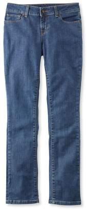 L.L. Bean L.L.Bean True Shape Jeans, Modern Fit Slim-Leg