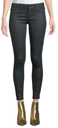DL1961 Premium Denim Emma Low-Rise Coated Skinny Jeans