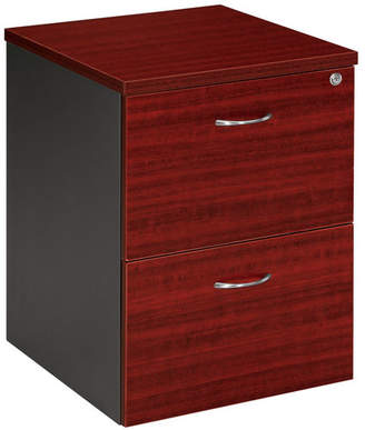 Cooper Mobile Pedestal Colour: Redwood / Iron Grey
