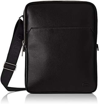 Lacoste Men''s NH1741GL Cross-Body Bag, (Black)