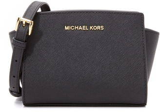 MICHAEL Michael Kors Selma Mini Messenger Bag $178 thestylecure.com