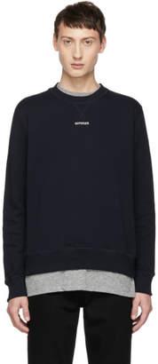 Band Of Outsiders Navy Outsider Sweatshirt