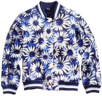 Tommy Hilfiger Floral-Print Bomber Jacket, Big Girls (7-16) $69.50 thestylecure.com