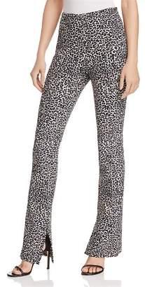 Anine Bing Leopard-Print Pants