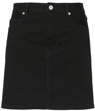 Banana Republic Petite Denim Mini Skirt