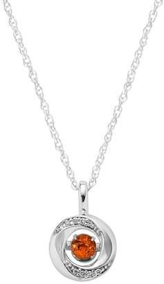 Brilliance+ Brilliance In Motion Brilliance in Motion Citrine & Diamond Accent Knot Pendant
