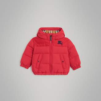 Burberry Childrens Down-filled Hooded Puffer Jacket