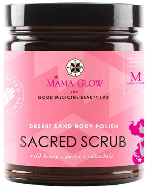 Mama Glow Ritual Beauty Collection Sacred Scrub Desert Sand Body Polish