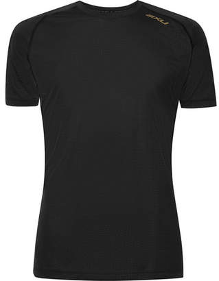 2XU GHST Stretch-Jersey T-Shirt - Black