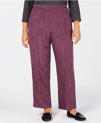 Alfred Dunner Plus Size Victoria Falls Pull-On Pants