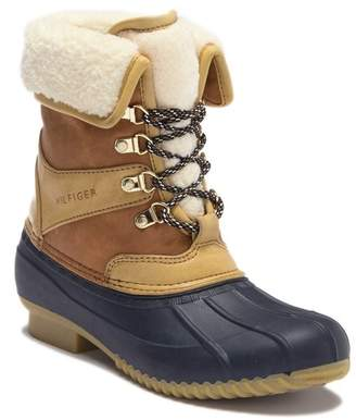 Tommy Hilfiger Rusteen Faux Shearling Lined Duck Boot