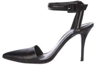 Alexander Wang Leather Ankle Strap Pumps