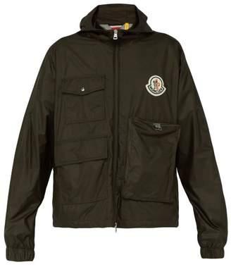 Moncler 2 1952 - Bouyer Logo Embroidered Zip Through Jacket - Mens - Khaki