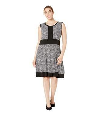MICHAEL Michael Kors Size Spring Sleeveless Border Dress