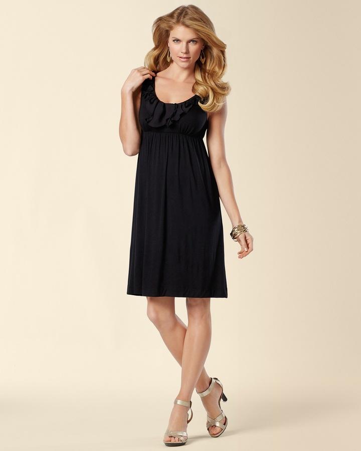 Soma Intimates Applique Short Dress