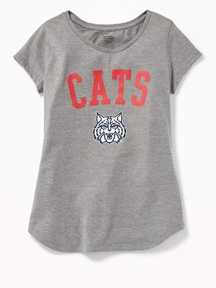 Old Navy College-Team Graphic Tee for Girls
