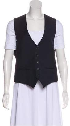 J. Lindeberg V-Neck Button-Up Vest