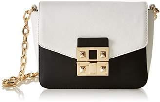 Liu Jo Women's N17128E0025_BLACK/WHITE Cross-Body Bag UK