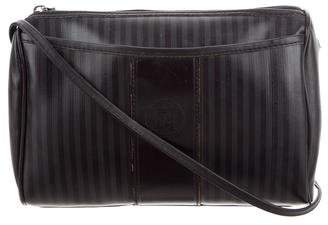 Fendi Vintage Pequin Crossbody Bag