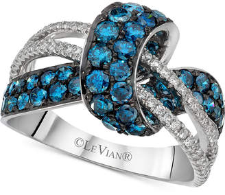 LeVian Le Vian Exotics Diamond Swirl Ring (2-1/10 ct. t.w.) in 14k White Gold