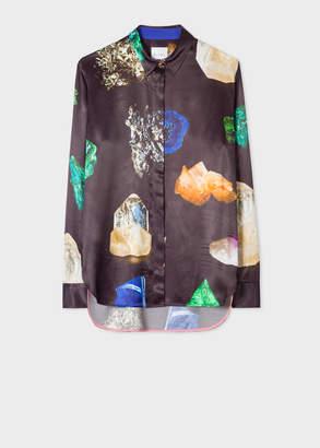 Paul Smith Women's 'Precious Stones' Print Shirt
