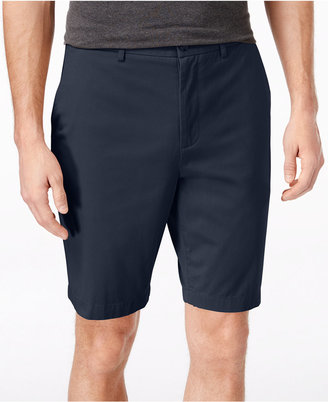 "Michael Kors Men's Tailored Flat Front 9"" Shorts $75 thestylecure.com"