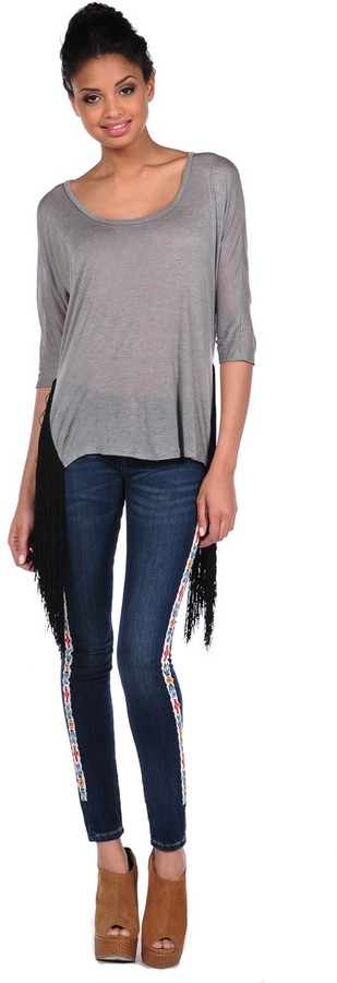 Woodleigh Side Drape Top