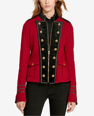 Denim & Supply Ralph Lauren French Terry Military Jacket $198 thestylecure.com