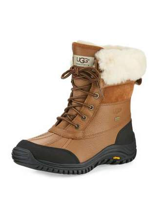 UGG Adirondack II Leather Hiker Boot, Otter Brown $225 thestylecure.com