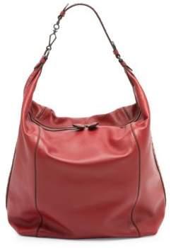 Bottega Veneta Large Leather Hobo Bag