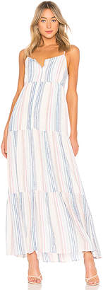 Splendid Arco Iris Maxi Dress
