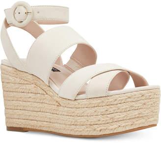 Nine West Kushala Wedge Sandals Women's Shoes