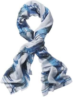 Athleta Blue Scarf by Vismaya Inc