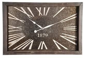 Foreside Home & Garden Roubaix Wall Clock