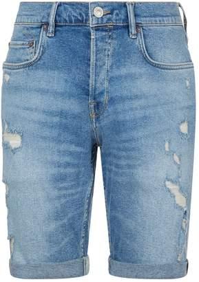 AllSaints Isher Denim Shorts