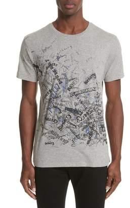 Burberry Becklow Standard Fit Graphic Tee