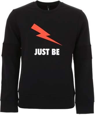 Neil Barrett Jersey Sweatshirt