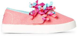 Skechers Lil Bobs (Toddler Girls) Coral B-Loved Cutie Curls Slip-On Sneakers