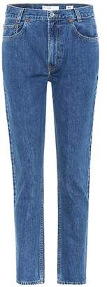 RE/DONE Academy Fit high-waisted jeans