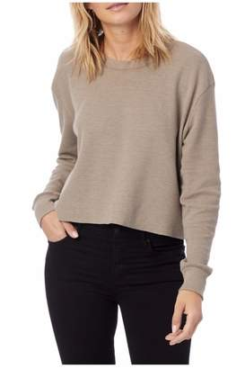 Alternative Apparel Tan Cropped Thermal