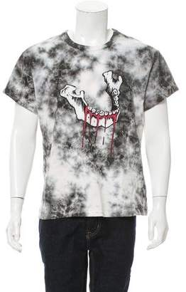 Amiri Tie-Dye Mandible T-Shirt w/ Tags