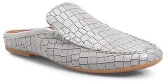 Børn Capricorn Croc Embossed Leather Mule