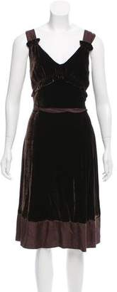 Marc by Marc Jacobs Sleeveless Velvet Dress w/ Tags