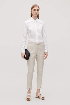 Cos SLIM-FIT TROUSERS WITH PRESS FOLDS