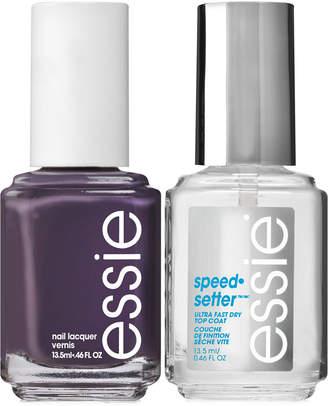 Essie 2-Pc. Speed Setter Top Coat & Nail Polish Set