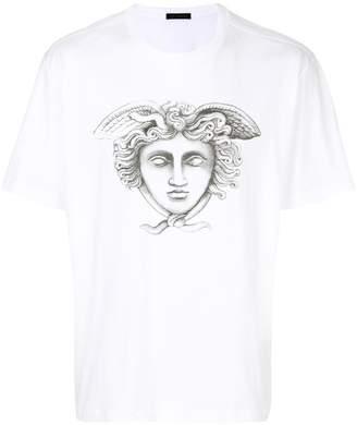 Versace Medusa sketch T-shirt