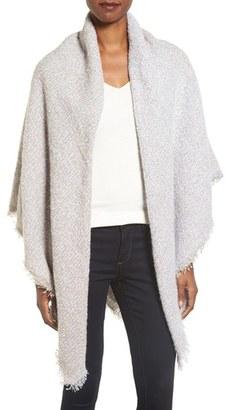 Women's Collection Xiix Colorblock Boucle Wrap $48 thestylecure.com