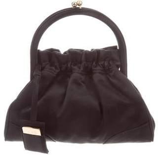 Dolce & Gabbana Satin Evening Handle Bag