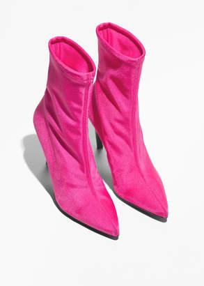 Neon Sock Boots