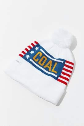 Coal The Downhill White Beanie